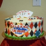 This beautiful cake was created by Sweet Caroline's Bakery! Thank you so much!