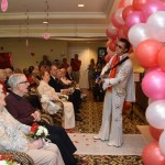 Before releasing the guests to the reception, Elvis finished the ceremony with one last song!