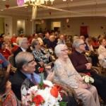 We had a huge turn out with friends and family members supporting our residents!