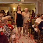 Christina is walking Jean down the aisle.