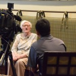 Jean being interviewed by Barry.