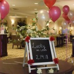 Lucky in Love was the theme for the Vow Renewal Ceremony and Reception!