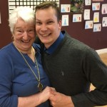 David, the Studio Dance Director and founding Arthur Murray Instructor, dancing with the lovely Anna!