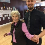 Misha, an International Champion and Arthur Murray Instructor, dancing with the lovely Thelma!