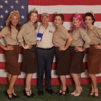 Bomber Girls and George