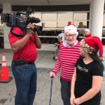 Jean and Michelina being interviewed by Fox 13 News!