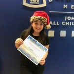 Michelina received a Certificate of Appreciation from All Children's Hospital for her toy donation of over $2,200!