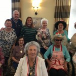 Watermark Team Members and residents showing off their style!