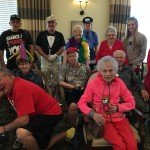 Residents had a great time dressing up but really enjoyed seeing Team Members all dressed up!
