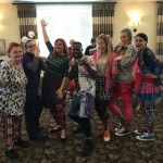 Some of the wonderful Watermark Associates that dressed extra funky today!