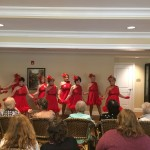 A performance by the Uptown Girls.