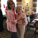 What wedding is complete without dancing? Donna and Thelma are off to a great start!