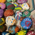 Some inspiring rocks for people to find throughout the community!
